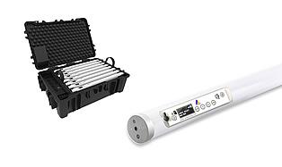 LED — Astera Helios FP2 Wireless LED Light Tube Set (x8)