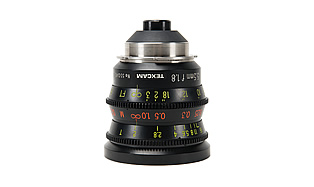 16MM Lenses — Optex 5.5mm T2 Prime Lens