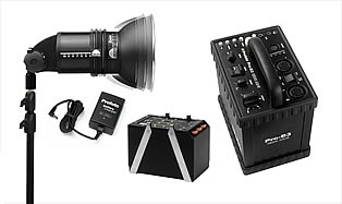 Flash Systems — Profoto Pro-B3 1200 AirS Power Kit