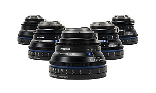 35MM Primes — ZEISS CP.2 5-Lens Set (21, 28, 35, 50, 85)
