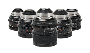 35MM Primes — ZEISS T1.3 Super Speed 5-Lens Set (18, 25, 35, 50, 85)