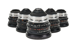 35MM Primes — ZEISS T2.1 5-Lens Set (16, 24, 32, 50, 85)
