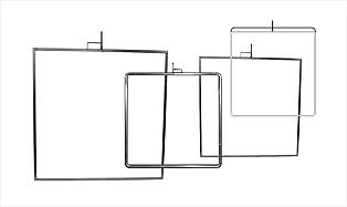 Flags, Nets, Etc. — Open Frames
