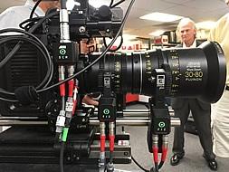 Setting up the WCU-4 FIZ system on our ALEXA Mini, with ARRI / FUJINON Alura 30-80mm T2.8 Zoom Lens.