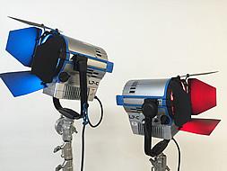 Twin ARRI L7-C LE2 LED Fresnels.