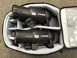 Bag o' goodness: Profoto B1 500 AirTTL Location Kit.