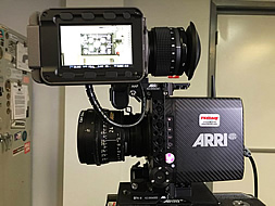 ALEXA Mini equiped with an ARRI / ZEISS 24mm Ultra Prime Distagon T1.9.
