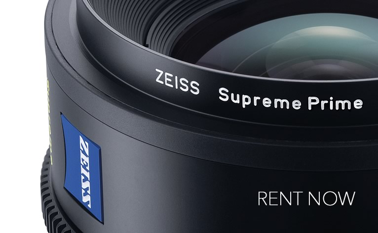ZEISS Supreme Prime lenses for Large-Format Coverage and High Speed